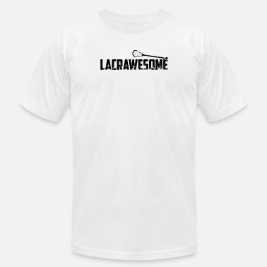Steeze Lacrosse is LACRAWESOME LAX Sport G.O.A.T Lacrosse Player Lacrosse Game Steeze Steeze - Men's  Jersey T-Shirt