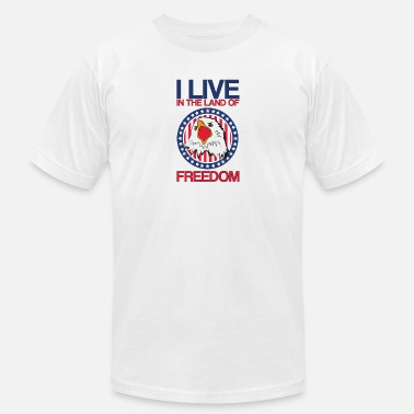 America Eagle Love American Eagle Land of Freedom United States of America - Men's  Jersey T-Shirt