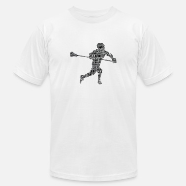 Lacrosse All Things Lacrosse T-Shirt Lacrosse Shirts Funny - Men's  Jersey T-Shirt