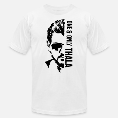 Chennai ONE AND ONLY THALA1 01 podS - Unisex Jersey T-Shirt