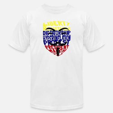 Dictatorship Anonymouse venezuela for Dictatorship - Men's Jersey T-Shirt
