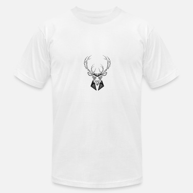 Swaggy Black Letter Buck - Unisex Jersey T-Shirt