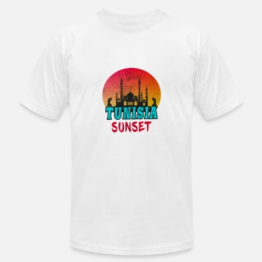Sousse Tunisia Sunset Vintage / Gift Tunis North Africa - Men's  Jersey T-Shirt
