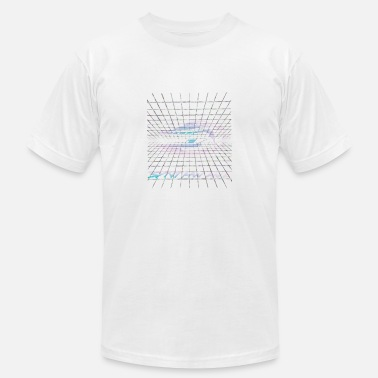 Synthwave Synthwave - NEON - Men's Fine Jersey T-Shirt