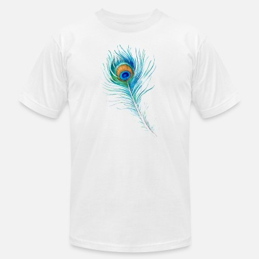 Peacock-feather Peacock Feather - Men's Jersey T-Shirt