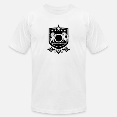 Atheist Republic Logo - Starred Badge - Men's Jersey T-Shirt