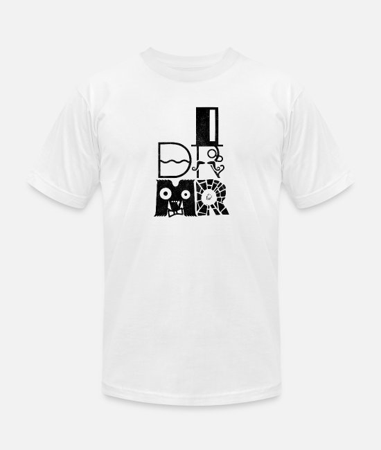 Pop Art T-Shirts - DR MR - Unisex Jersey T-Shirt white