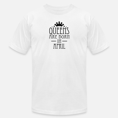 2 April Queens Are Born In April 2 - Men's Jersey T-Shirt
