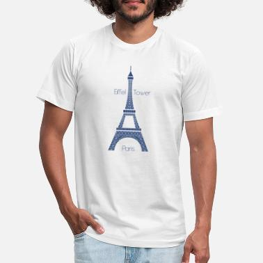 Eiffel Tower Eiffel Tower - Unisex Jersey T-Shirt