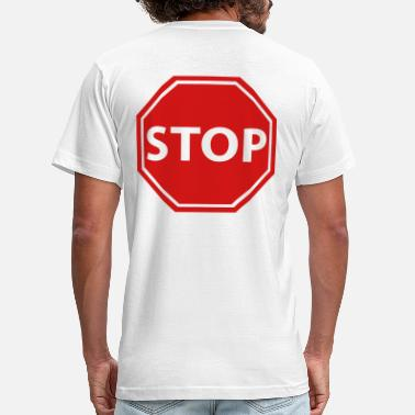 Stop Sign Stop sign - Men's Jersey T-Shirt