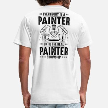 Painting The Real Painter - Gift, Present, Painting - Men's Jersey T-Shirt