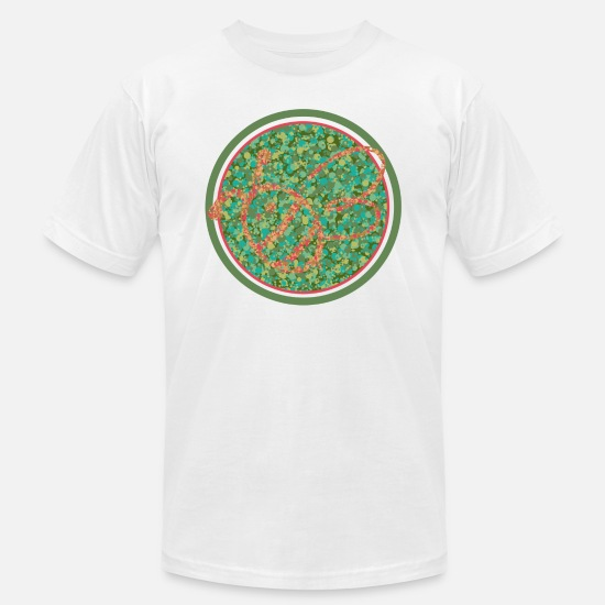 Blind T-Shirts - Color Challenged - Unisex Jersey T-Shirt white