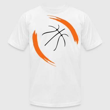 basketball cool design - Men's Fine Jersey T-Shirt