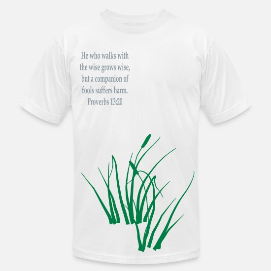 Www Creationsbyreta Com T-Shirts - grass - Men's Jersey T-Shirt white