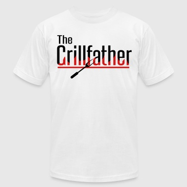 The Grillfather - Men's Fine Jersey T-Shirt