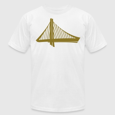Golden Statement - Men's Fine Jersey T-Shirt