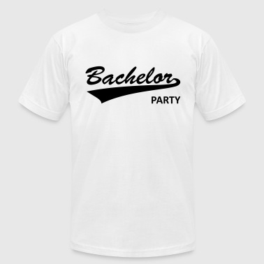 bachelor party, bachelor, parting, bachelors - Men's Fine Jersey T-Shirt