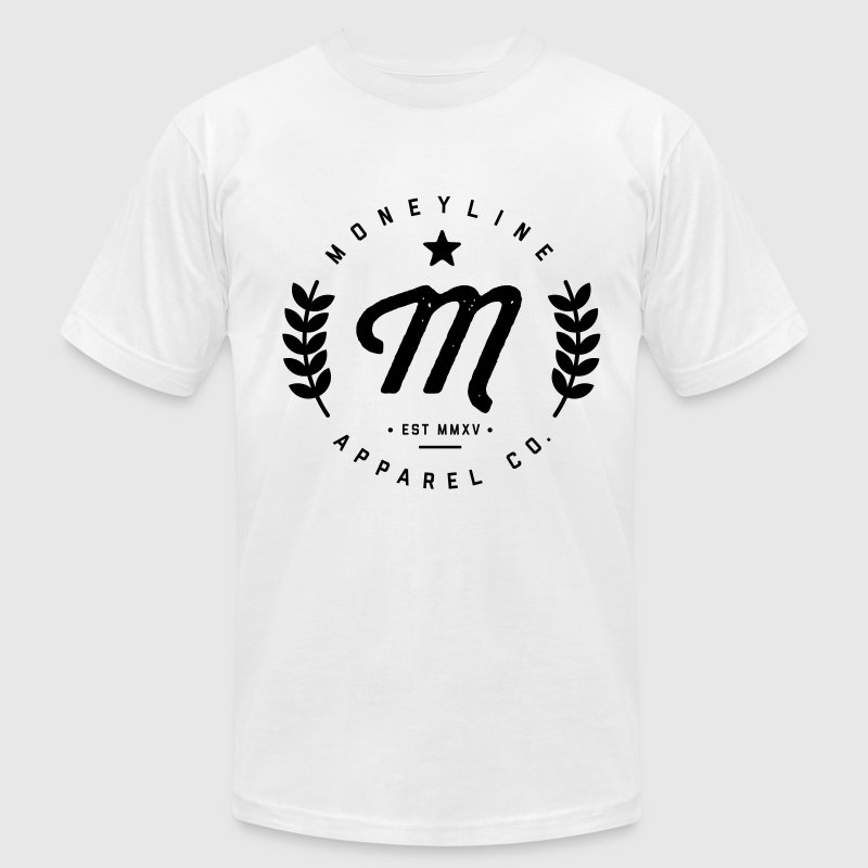 Moneyline Crest - Men's Fine Jersey T-Shirt