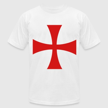 knights templar cross - Men's Fine Jersey T-Shirt