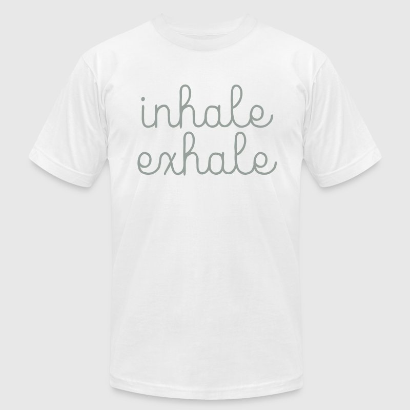 Inhale, Exhale - Men's Fine Jersey T-Shirt