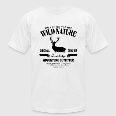 Wild Nature - Deer - Men's Fine Jersey T-Shirt
