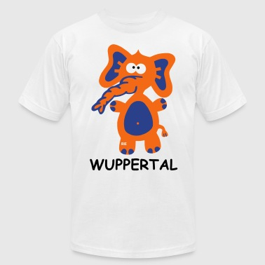 Wuppertal Germany Tuffi City Town Home Shirt zoo - Men's Fine Jersey T-Shirt