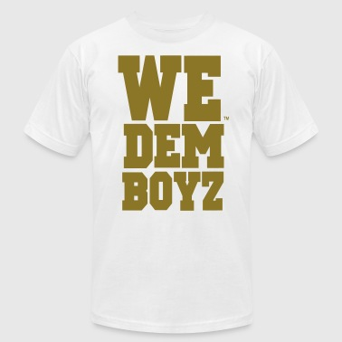 WE DEM BOYZ - Men's Fine Jersey T-Shirt
