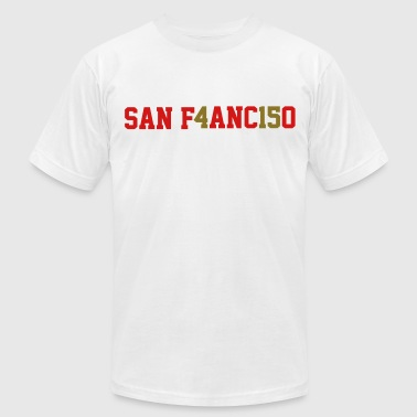 San Francisco, the 415 - Men's Fine Jersey T-Shirt