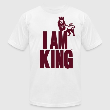 I AM KING - Men's Fine Jersey T-Shirt