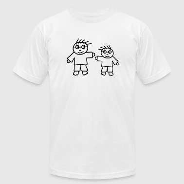 Big Brother - Little Brother - Men's Fine Jersey T-Shirt