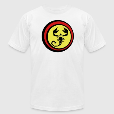 scorpion logo - Men's Fine Jersey T-Shirt
