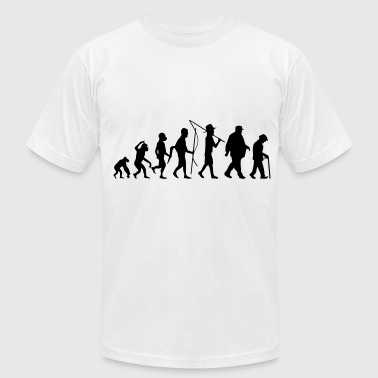 Human Evolution - Men's Fine Jersey T-Shirt