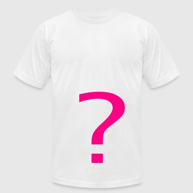 Question Mark - Men's Fine Jersey T-Shirt