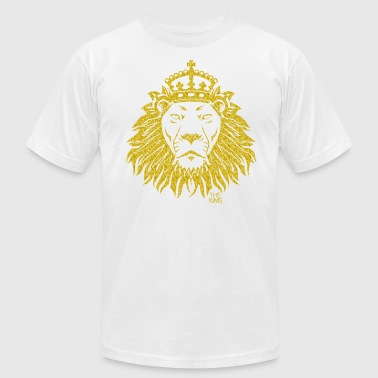 The King Lion - Men's Fine Jersey T-Shirt