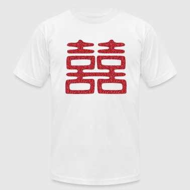 Double Happiness Double Happiness Elegant - Men's Fine Jersey T-Shirt