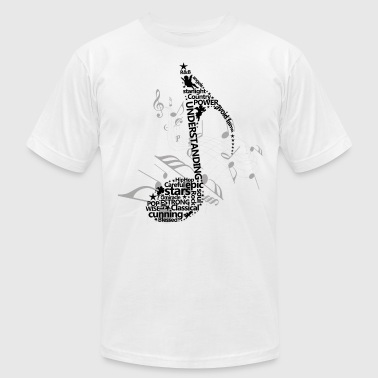 Music Note Music Notes  I My Awesome Life Tees - Men's Fine Jersey T-Shirt