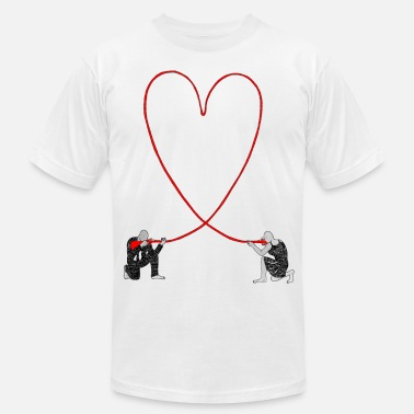 Hurts love hurts - Men's  Jersey T-Shirt