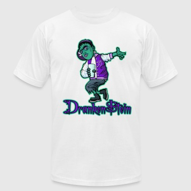 Grape 5 Dranken$tein tee by BAD Clothing - Men's Fine Jersey T-Shirt