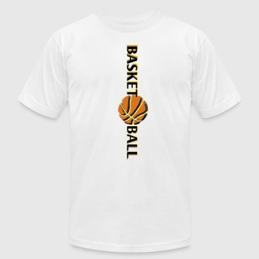 Basket Maker basketballball - Men's Fine Jersey T-Shirt