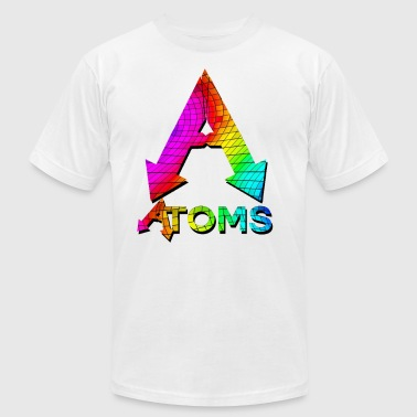 Spring Summer Logo rainbow - Men's Fine Jersey T-Shirt