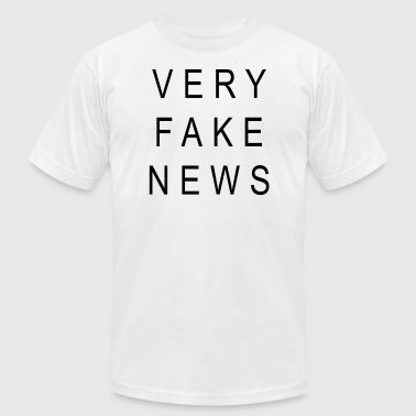 VERY FAKE NEWS - Men's Fine Jersey T-Shirt
