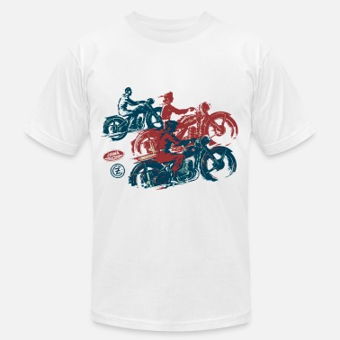 Two Stroke moto two stroke - Men's  Jersey T-Shirt