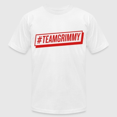 #TEAMGRIMMY - Men's Fine Jersey T-Shirt