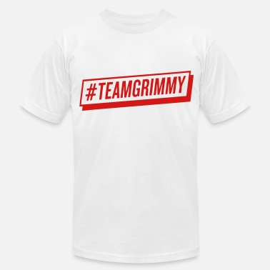 Christina Grimmie #TEAMGRIMMY - Men's Jersey T-Shirt