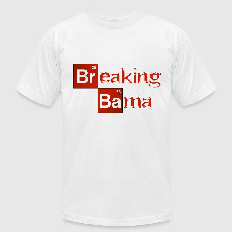 Breaking Bama.png - Men's Fine Jersey T-Shirt
