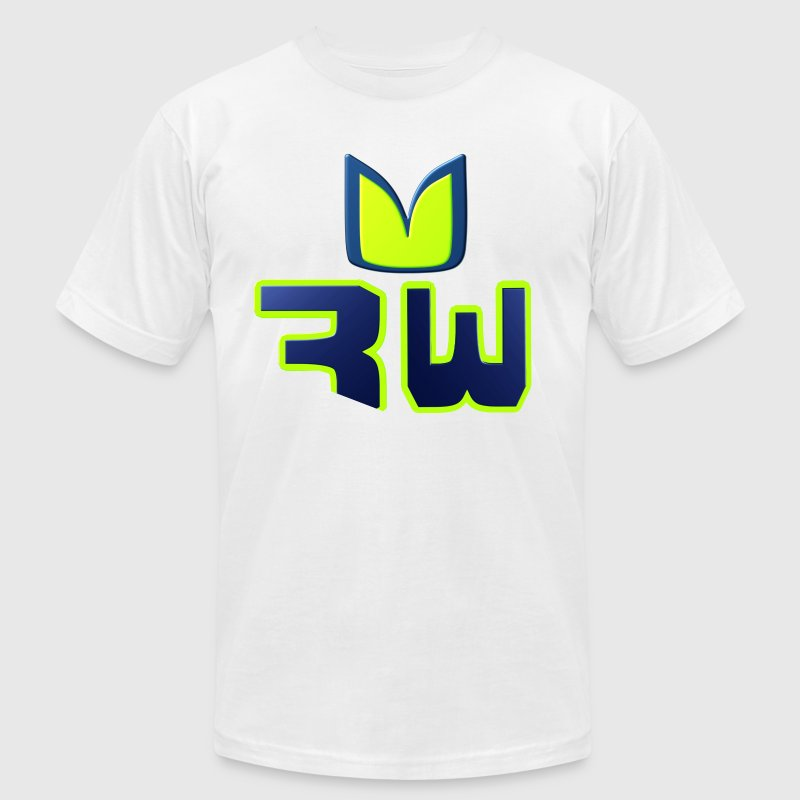 The Wilson 3: RW (R Dub) - Men's Fine Jersey T-Shirt