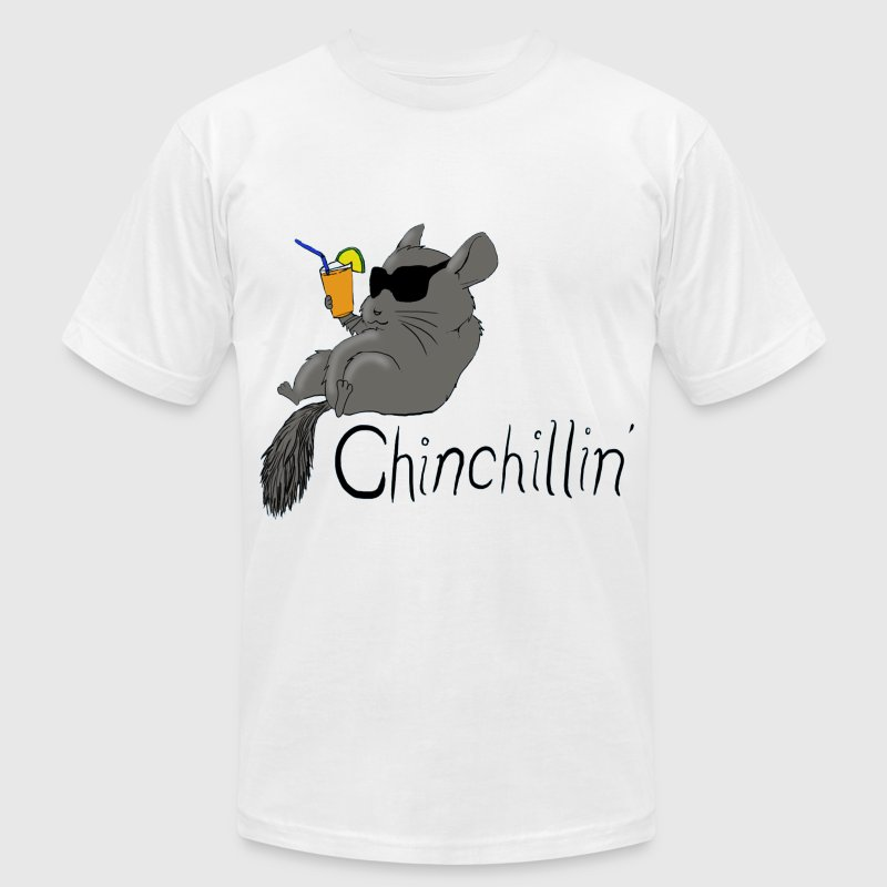 Chinchillin - Men's Fine Jersey T-Shirt