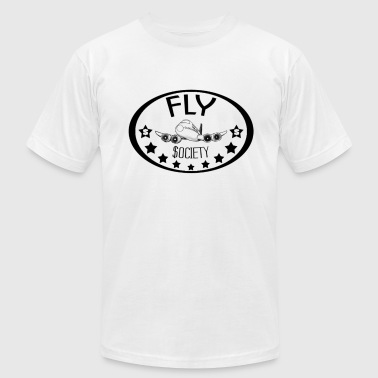 Fly Society. - Men's Fine Jersey T-Shirt