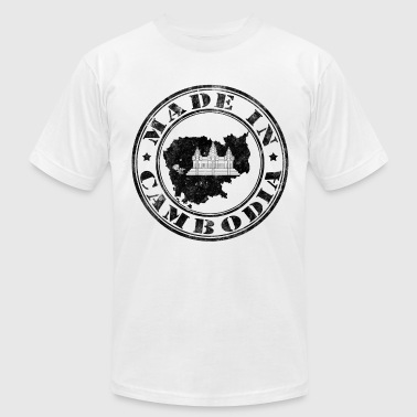 Made In Cambodia Black - Men's Fine Jersey T-Shirt