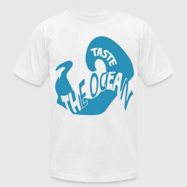 taste the ocean - Men's Fine Jersey T-Shirt